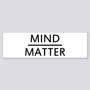 Mind Matter Sticker (Bumper)